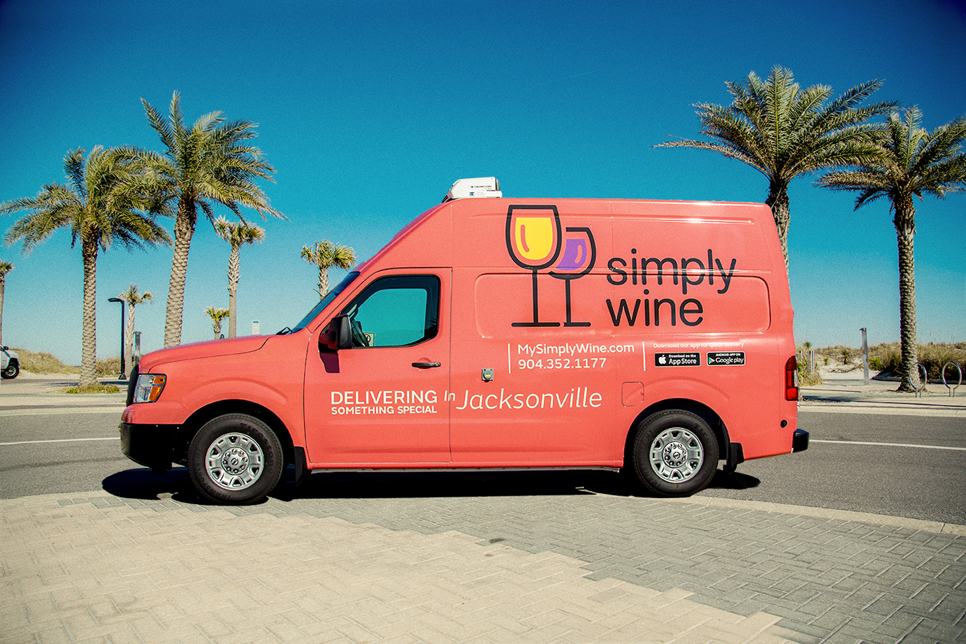 Brand Strategy and Creative - Simply Wine
