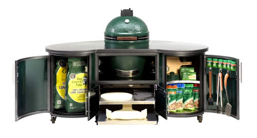 Big Green Egg Tables, Carts, Nests, & Shelves