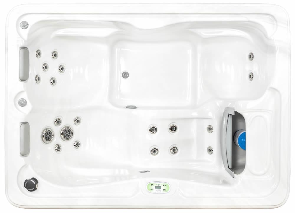 Forsythia 3-person Hot Tub by Garden Spas / Artesian Spas