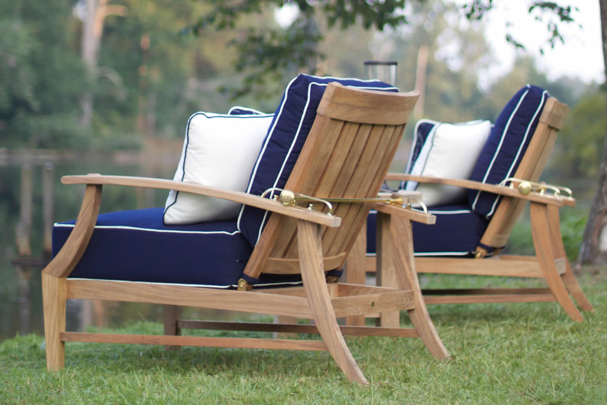 CROQUET Teak Lounge Collection by Summer Classics Outdoor Furniture