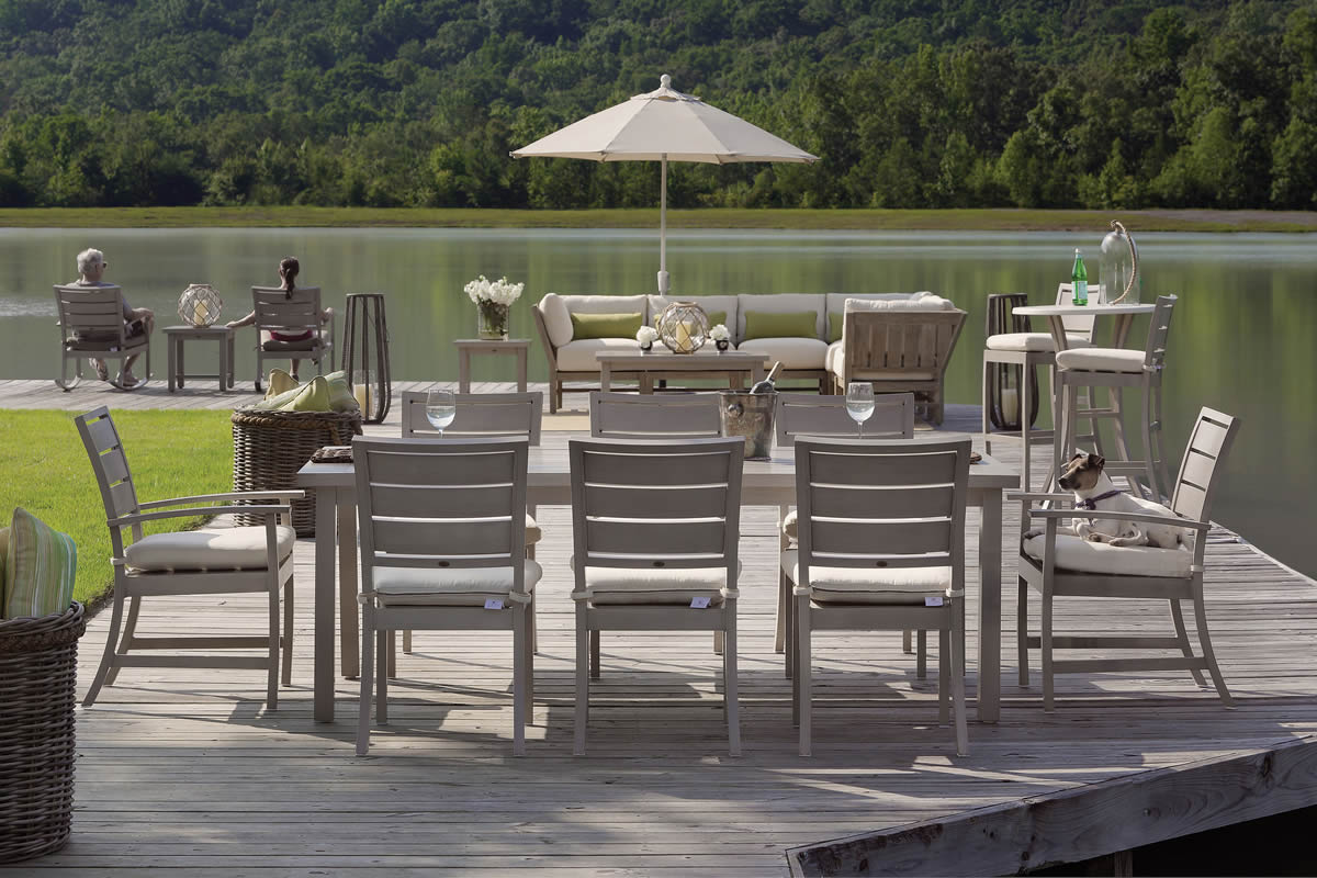 CHARLESTON Aluminum Collection by Summer Classics Outdoor Furniture