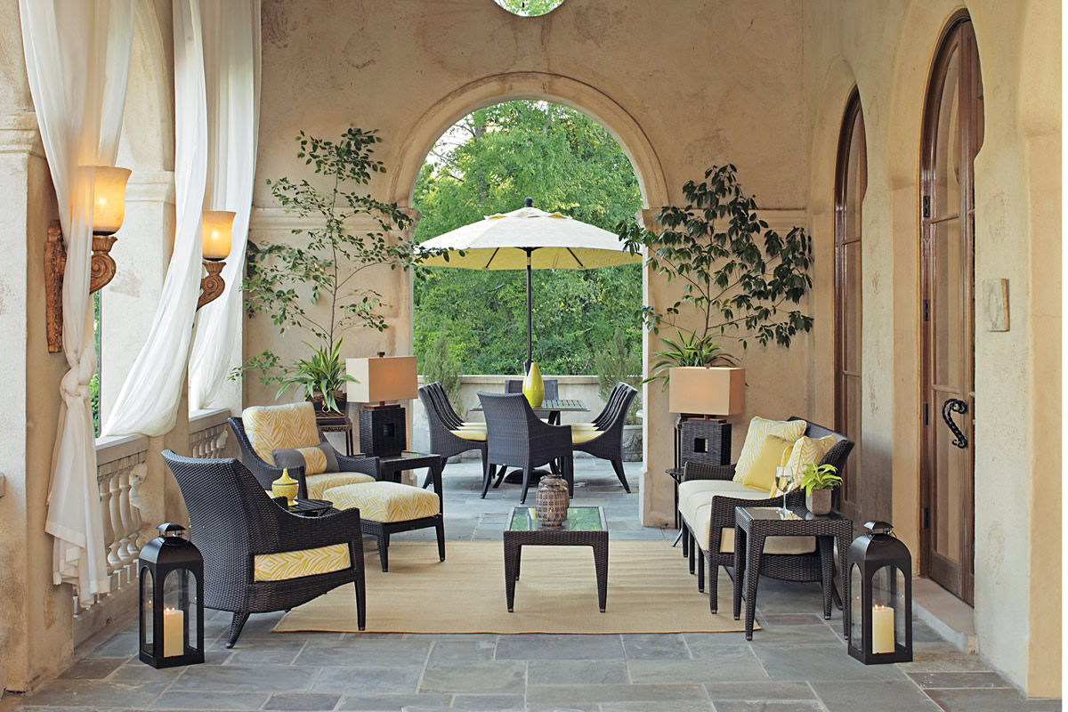ATHENA Wicker Lounge & Dining Collections by Summer Classics Outdoor Furniture
