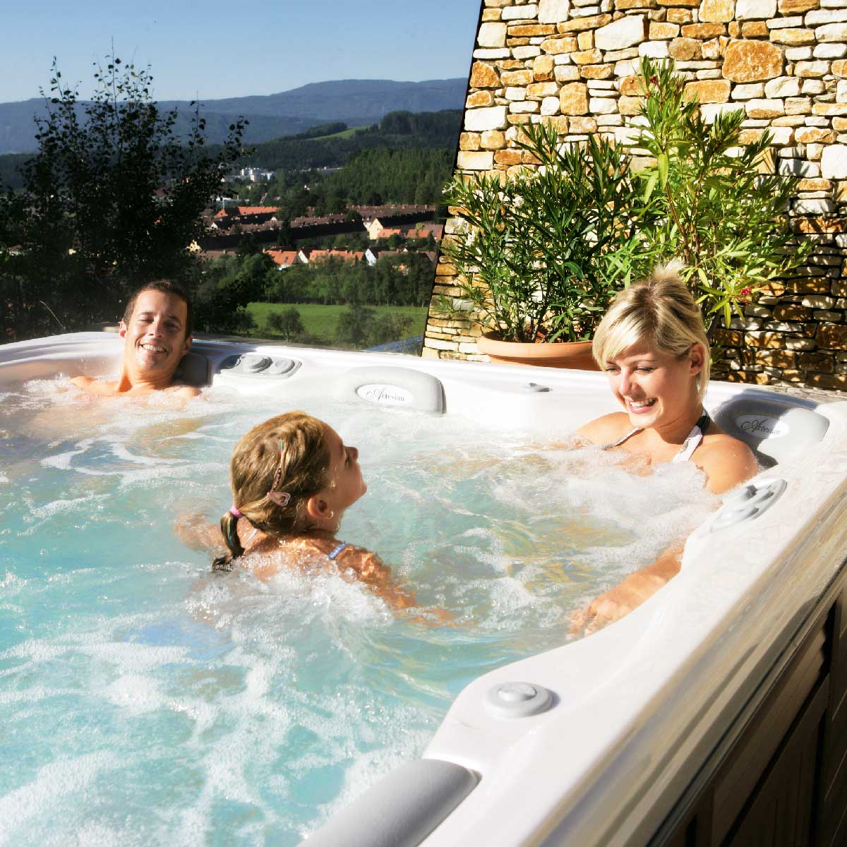 ISLAND & ISLAND ELITE Hot Tubs by Artesian Spas