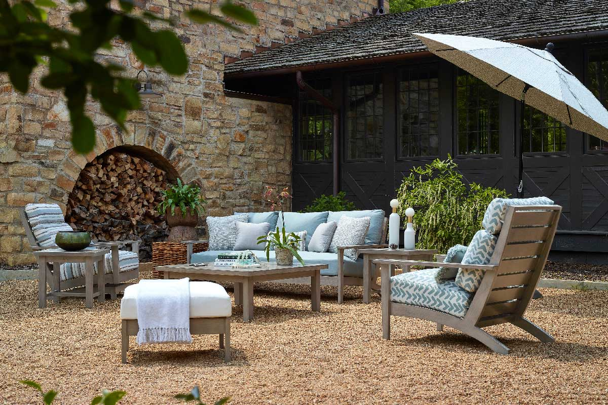 KENNEBUNKPORT Aluminum Lounge & Dining Collection by Summer Classics Outdoor Furniture