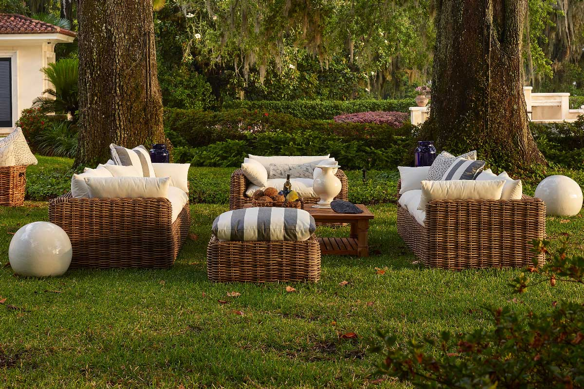 MONTECITO Wicker Lounge Collection by Summer Classics Outdoor Furniture