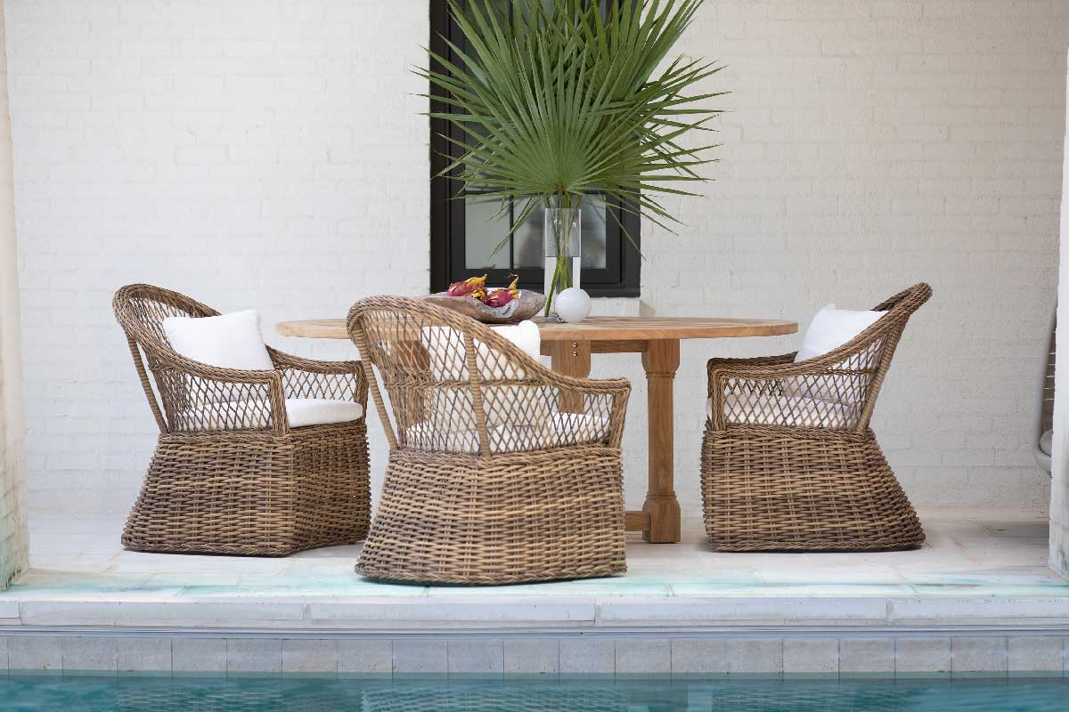 SOHO Wicker Lounge & Dining Collection by Summer Classics Outdoor Furniture