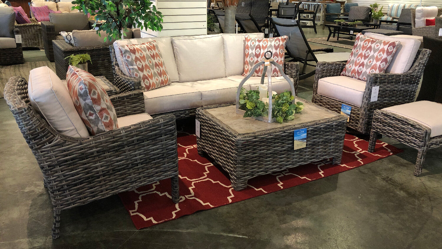 Inverness Outdoor Furniture Collection Oasis Outdoor Of Charlotte Nc Outdoor Wicker Patio Furniture Hot Tubs Swimspas Pools Grills Big Green Egg