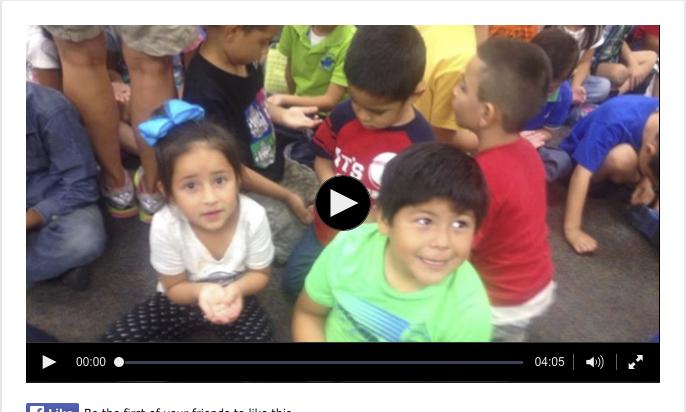 School Assembly, Herrera Elementary, El Paso, TX