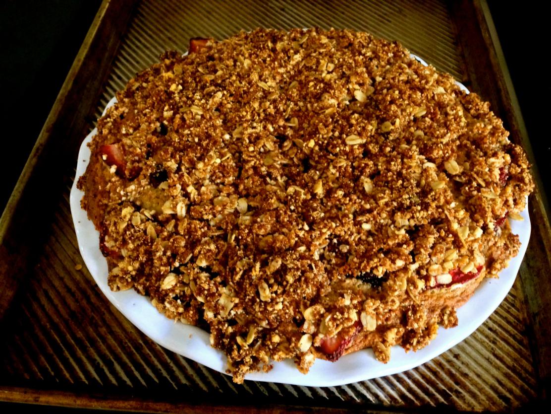 Buttermilk Berry Coffee Cake