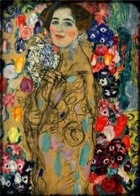 Portrait of Ria Monk by Gustav Klimt