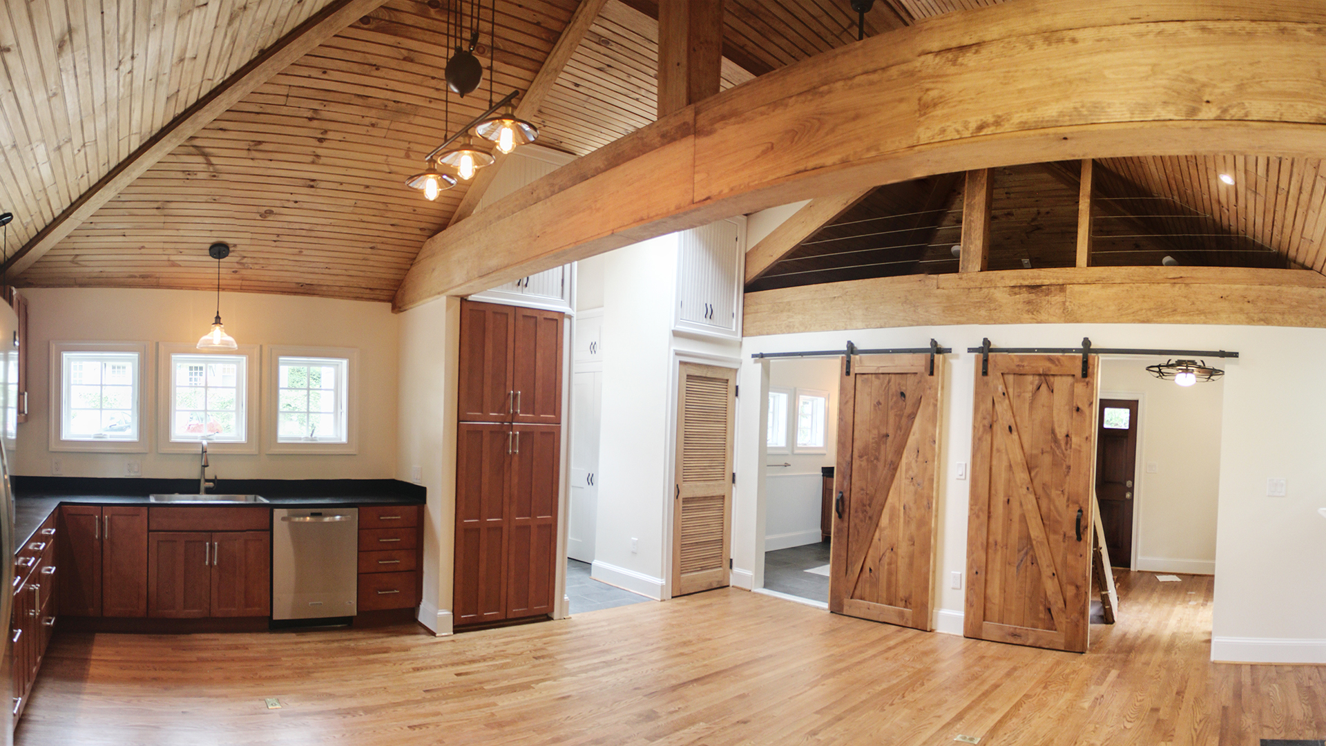 Home Renovation Ideas Exposed Joist