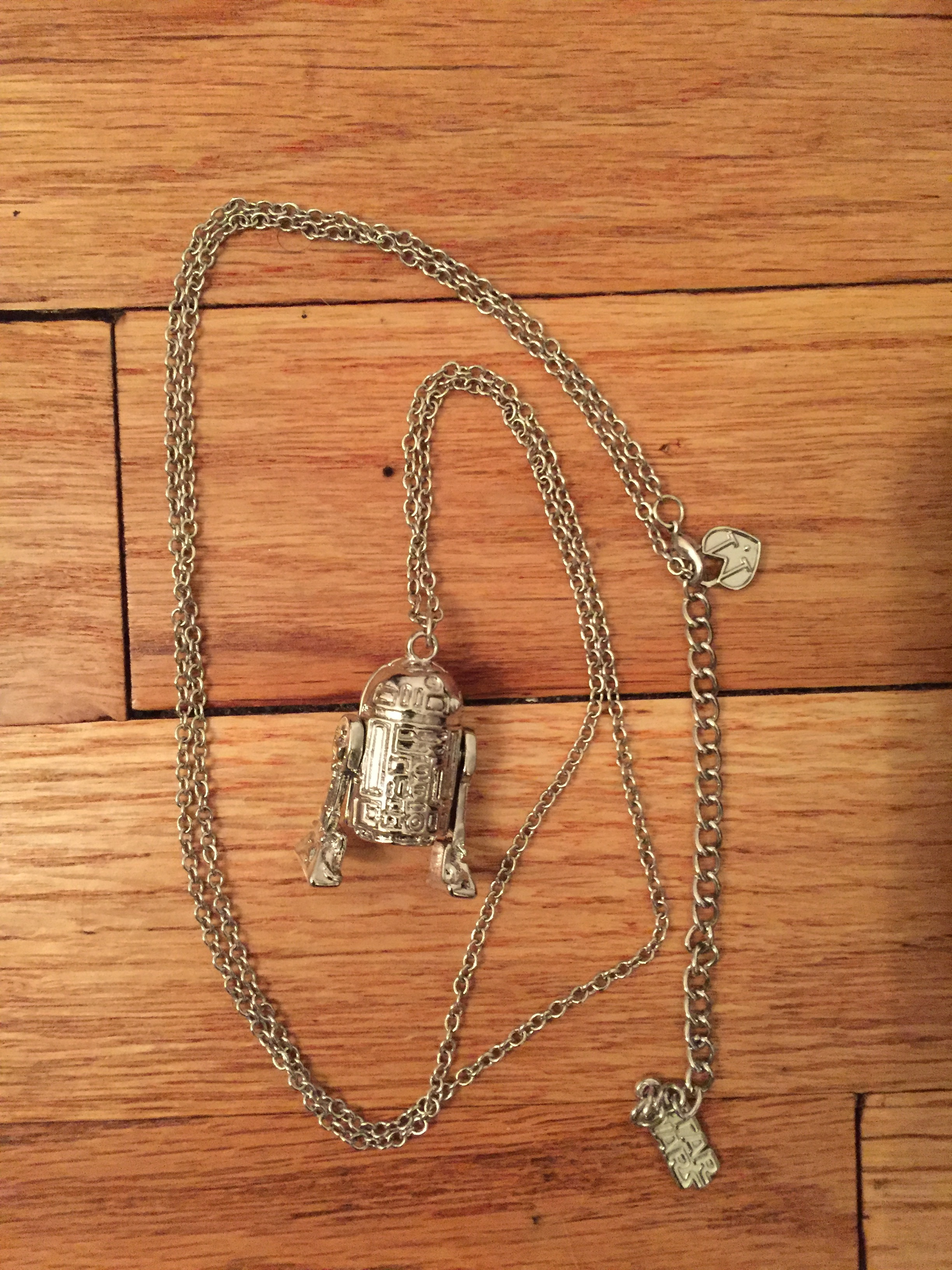 Love & Madness R2D2 necklace