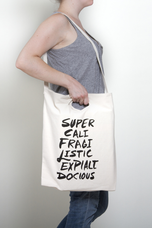 Supercalifragilistic | Mary Poppins Tote Bag