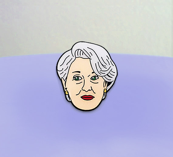Meryl Streep in Devil Wears Prada Enamel Pin $12.68