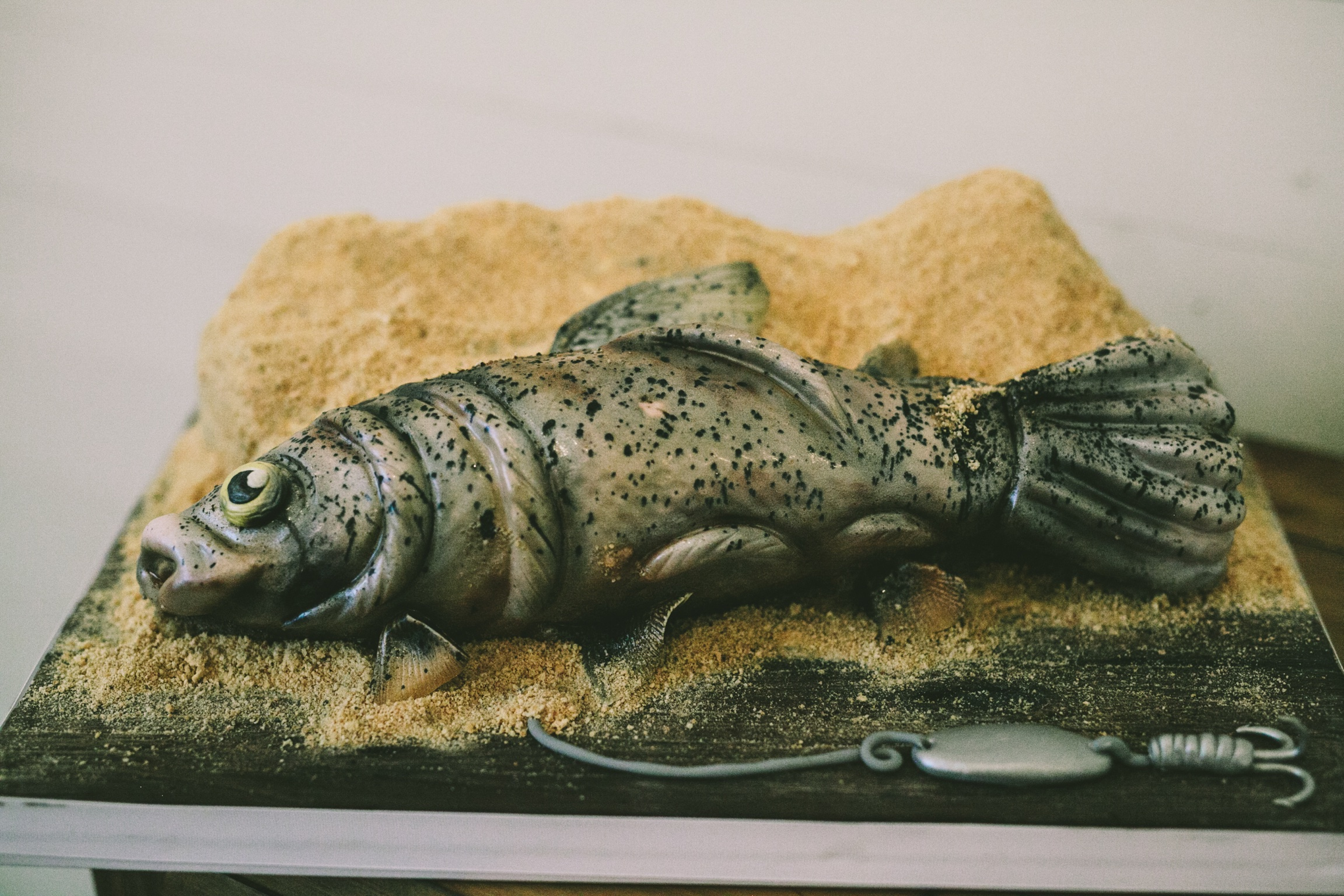 groom's cake trout