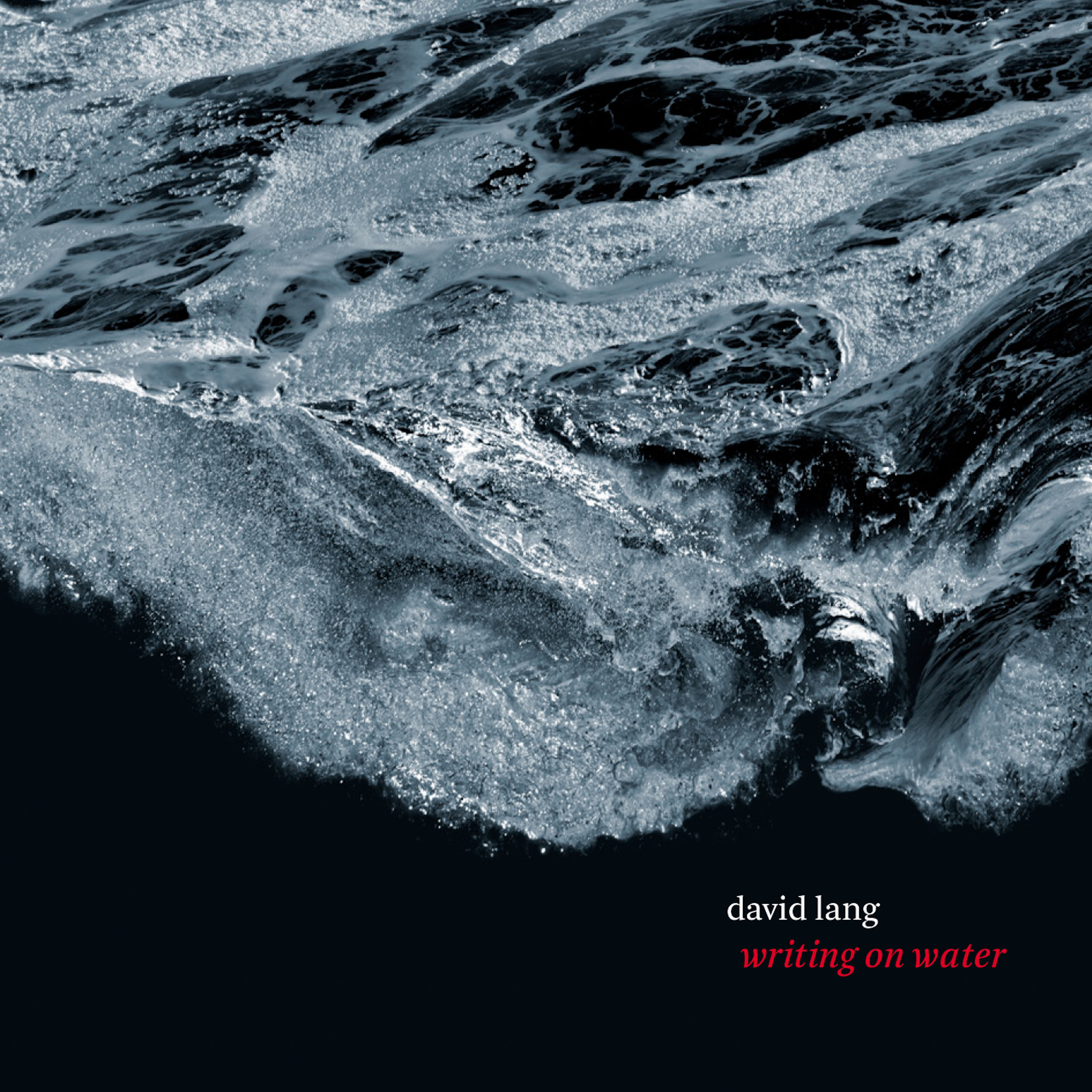 David Lang –  writing on water