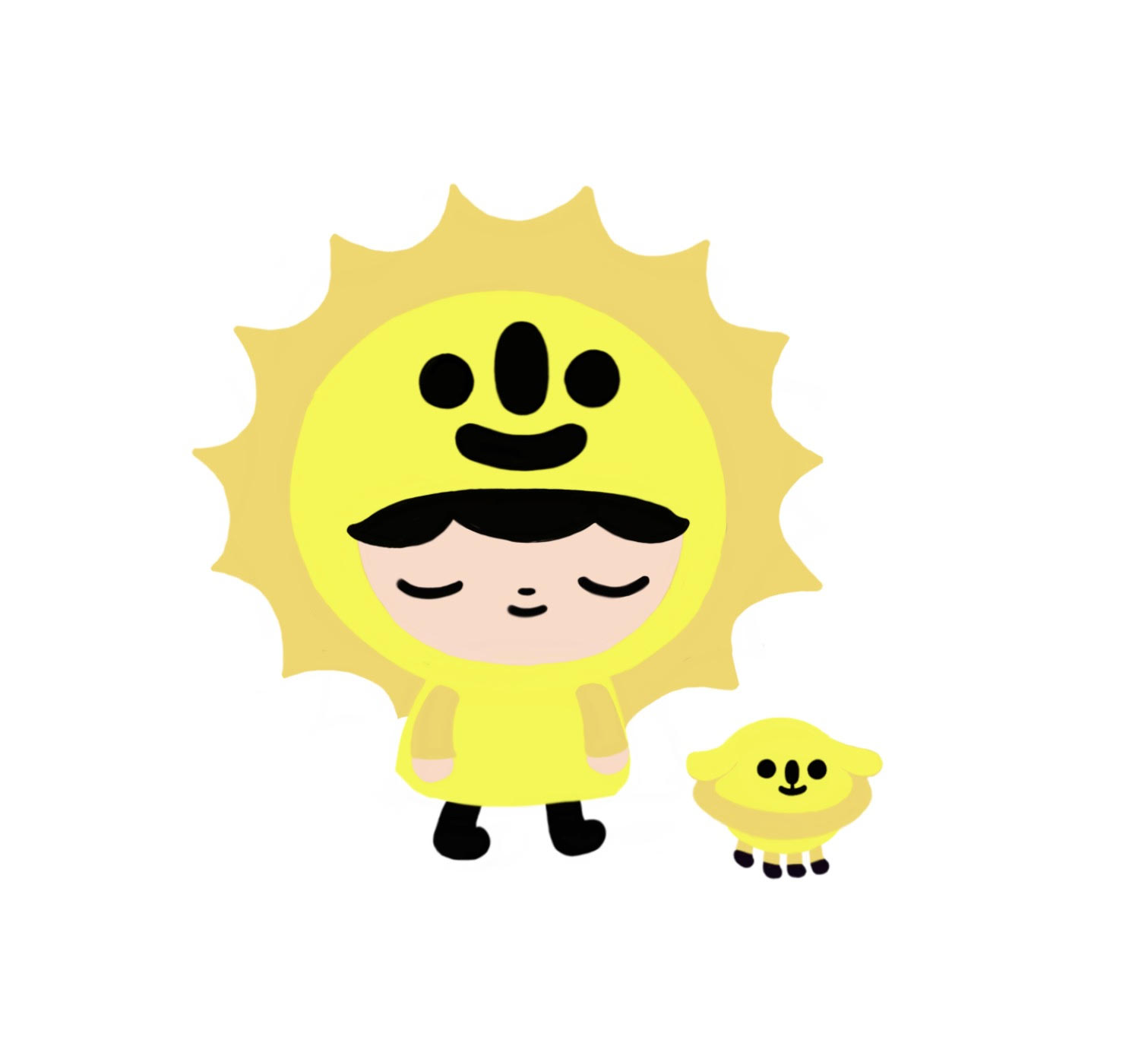 Initial concept design of Sunny and Saturn