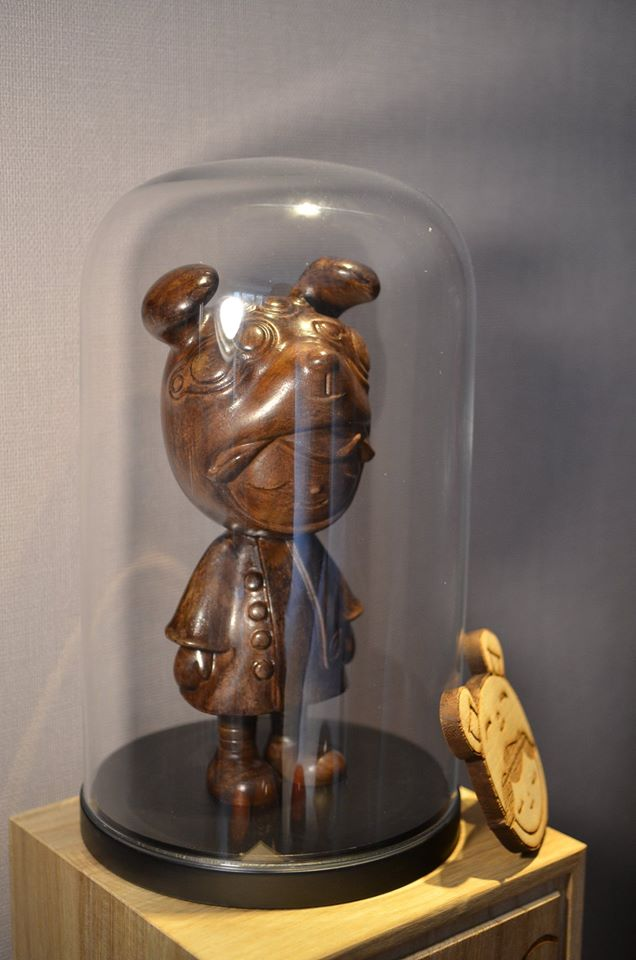 A dream project to have Benny the Dreamer carved out of wood.