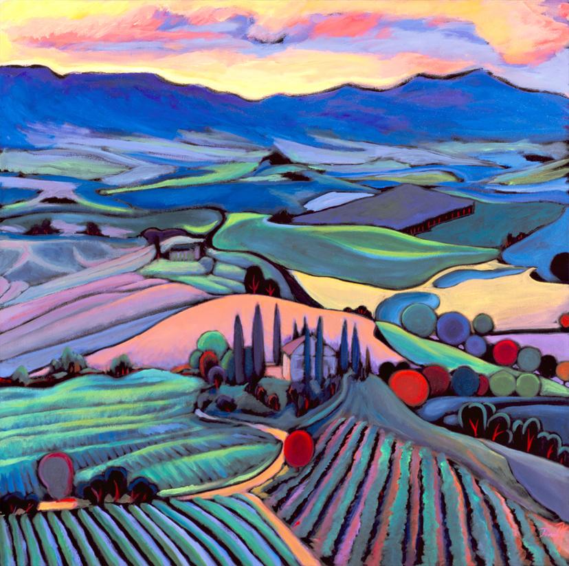 Sunset Tuscany II