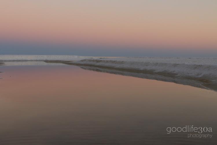 beachscapes - pale pink eastern lake.jpg