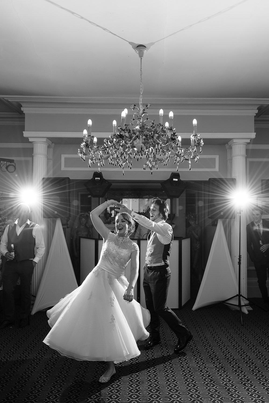 First dance at Langar Hall Wedding