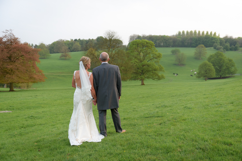 hassop hall wedding