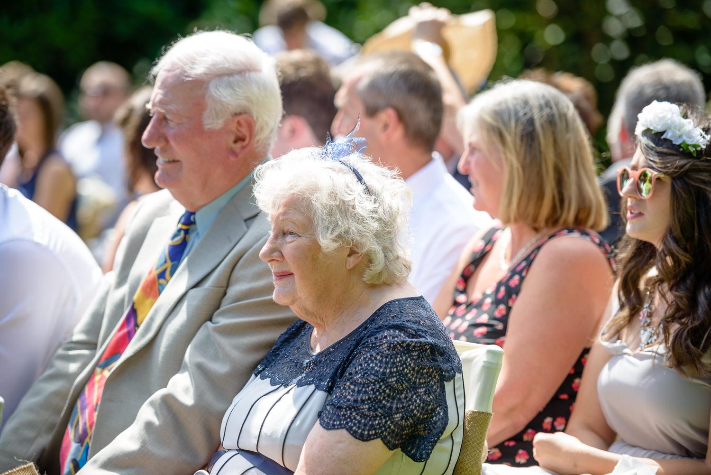 outdoor wedding at Callow hall