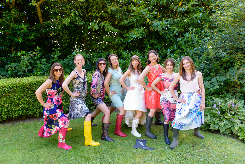 Fun photos at Callow Hall wedding