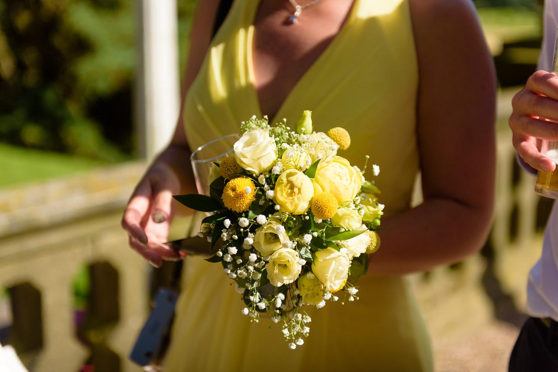 Callow Hall wedding day