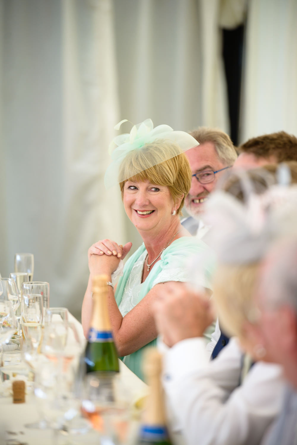 Mother of the bride at Callow Hall wedding