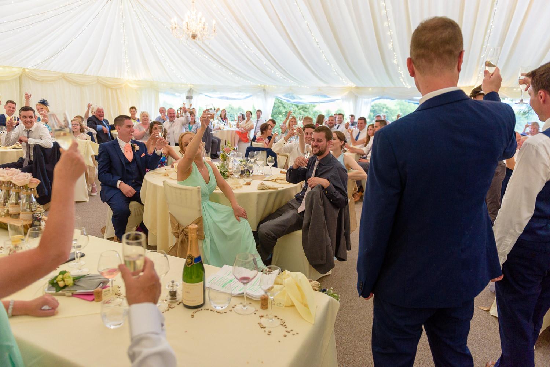 Best man speech at Callow Hall wedding