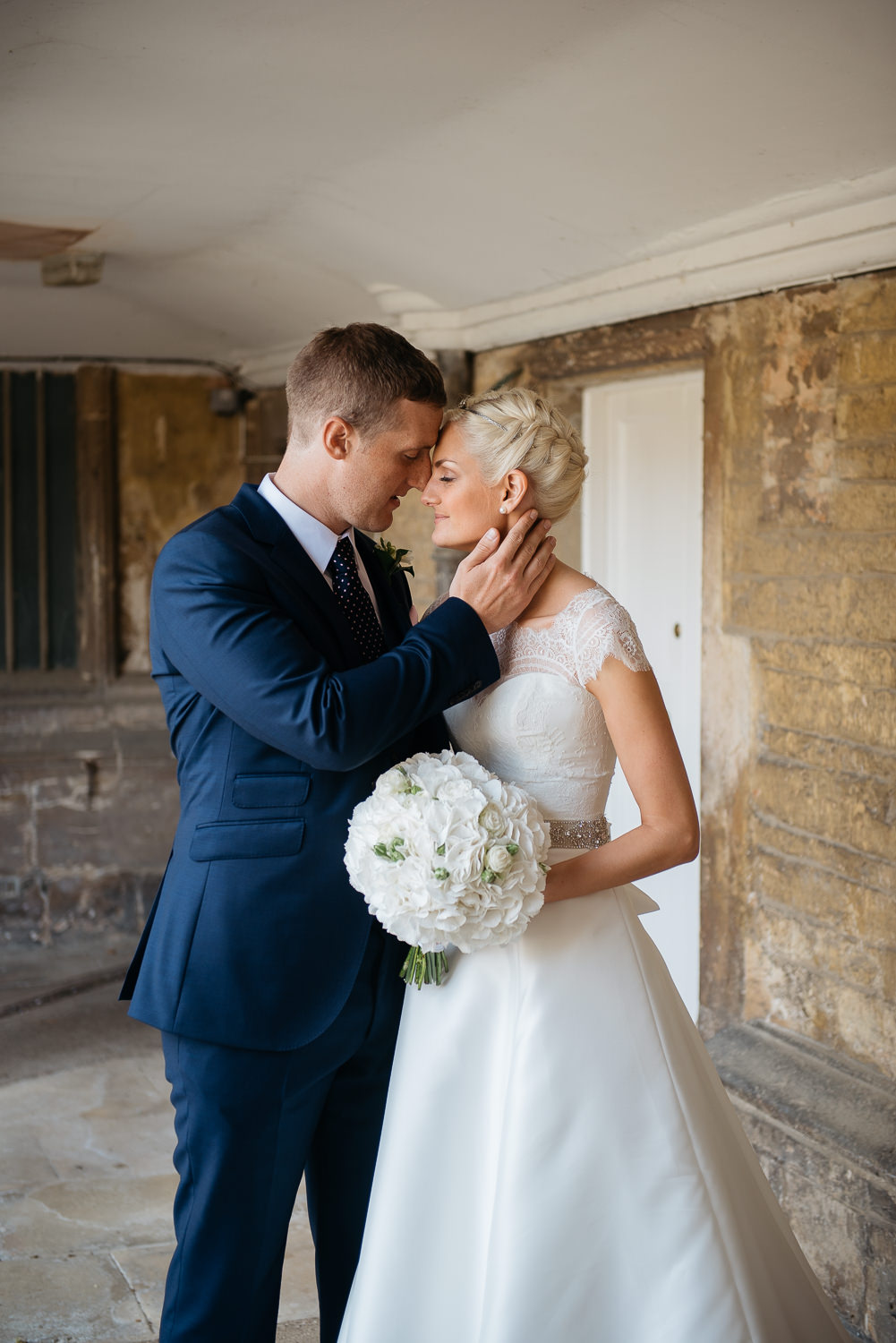portrait at burghley house wedding photography