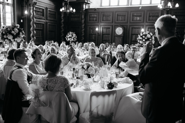 Wedding photos at burghley house