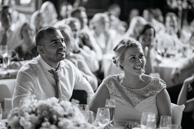 Wedding speeches at Burghley house wedding