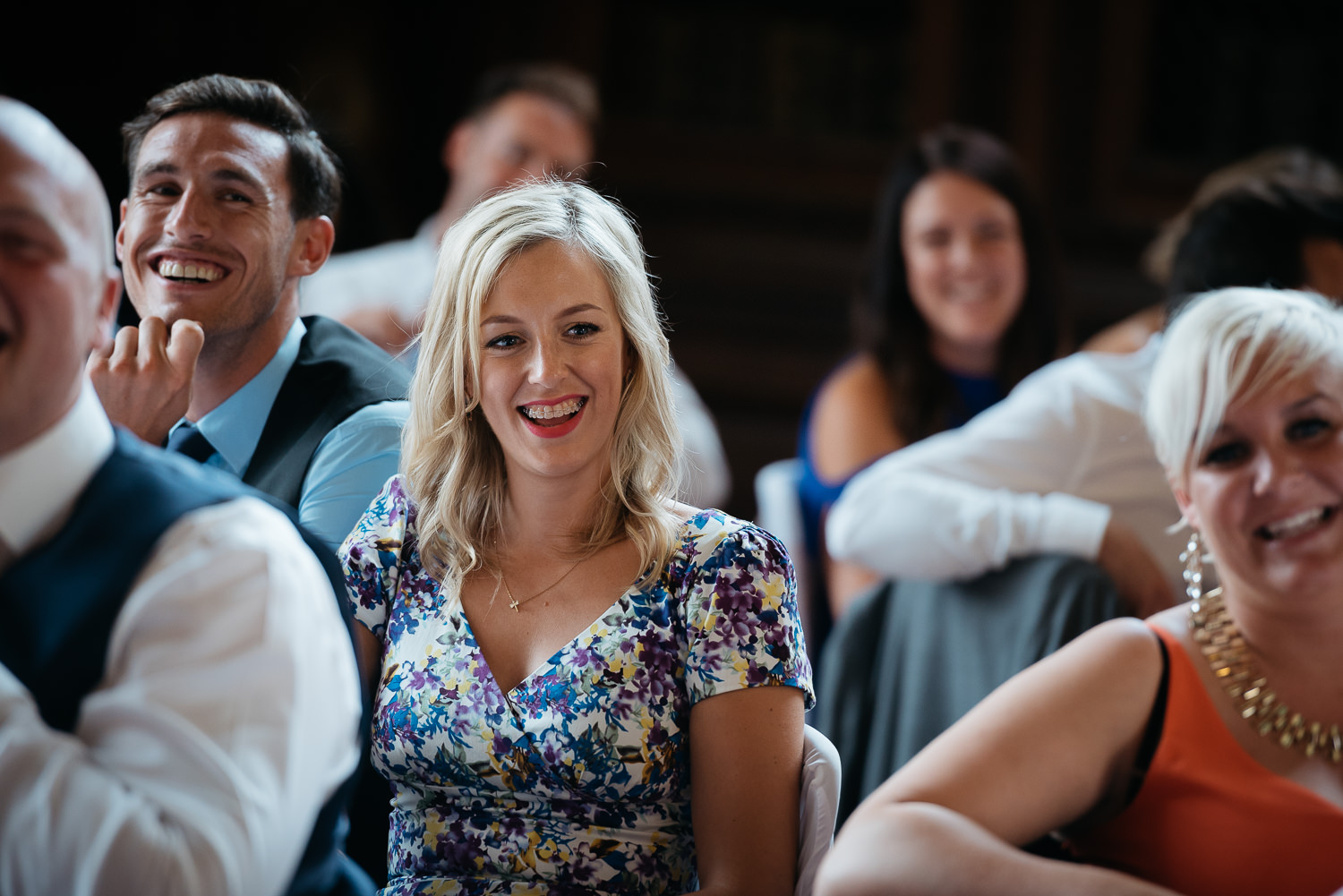 Wedding speeches at Burghley house