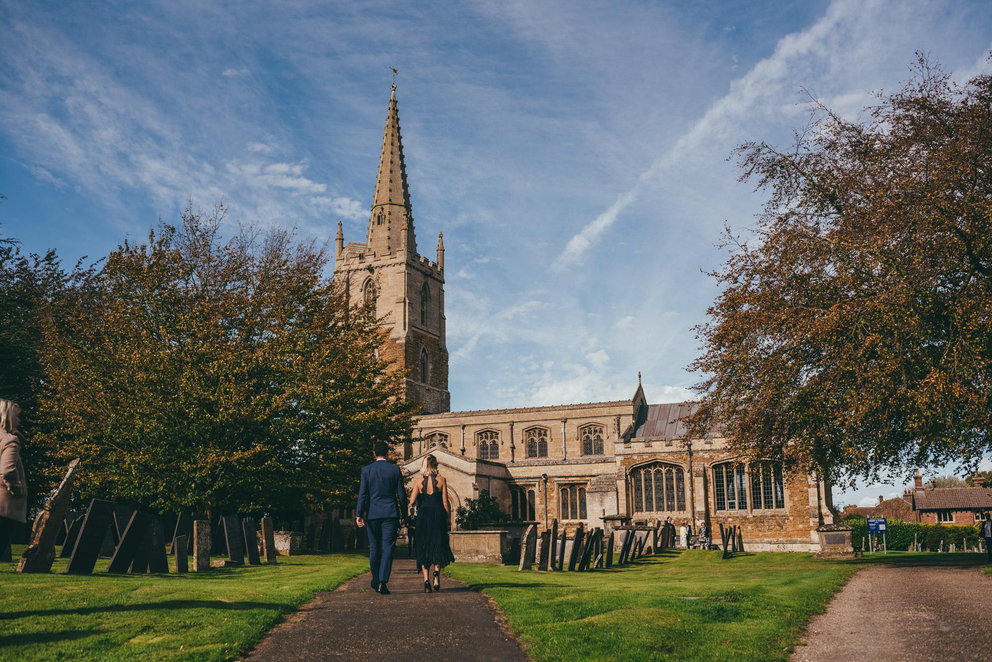 harlaxton church