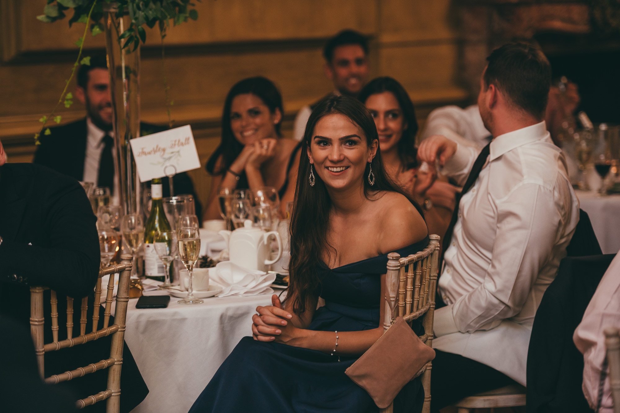 guests reactions to the wedding speeches