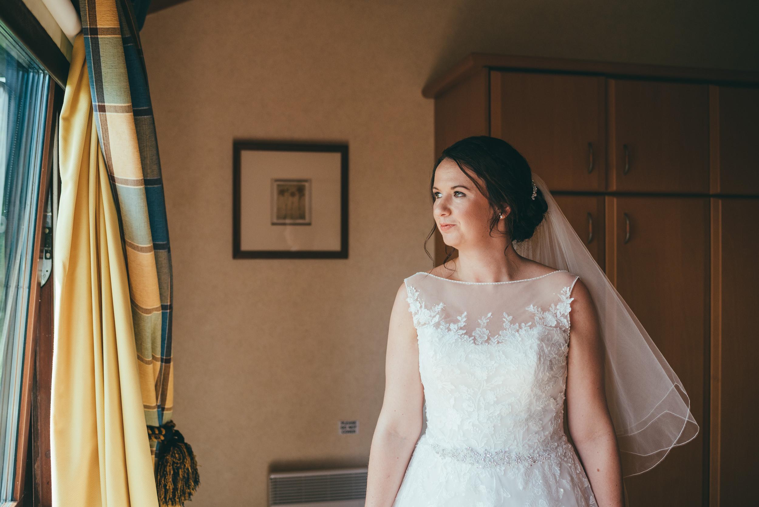 bridal portrait at Belton Woods hotel