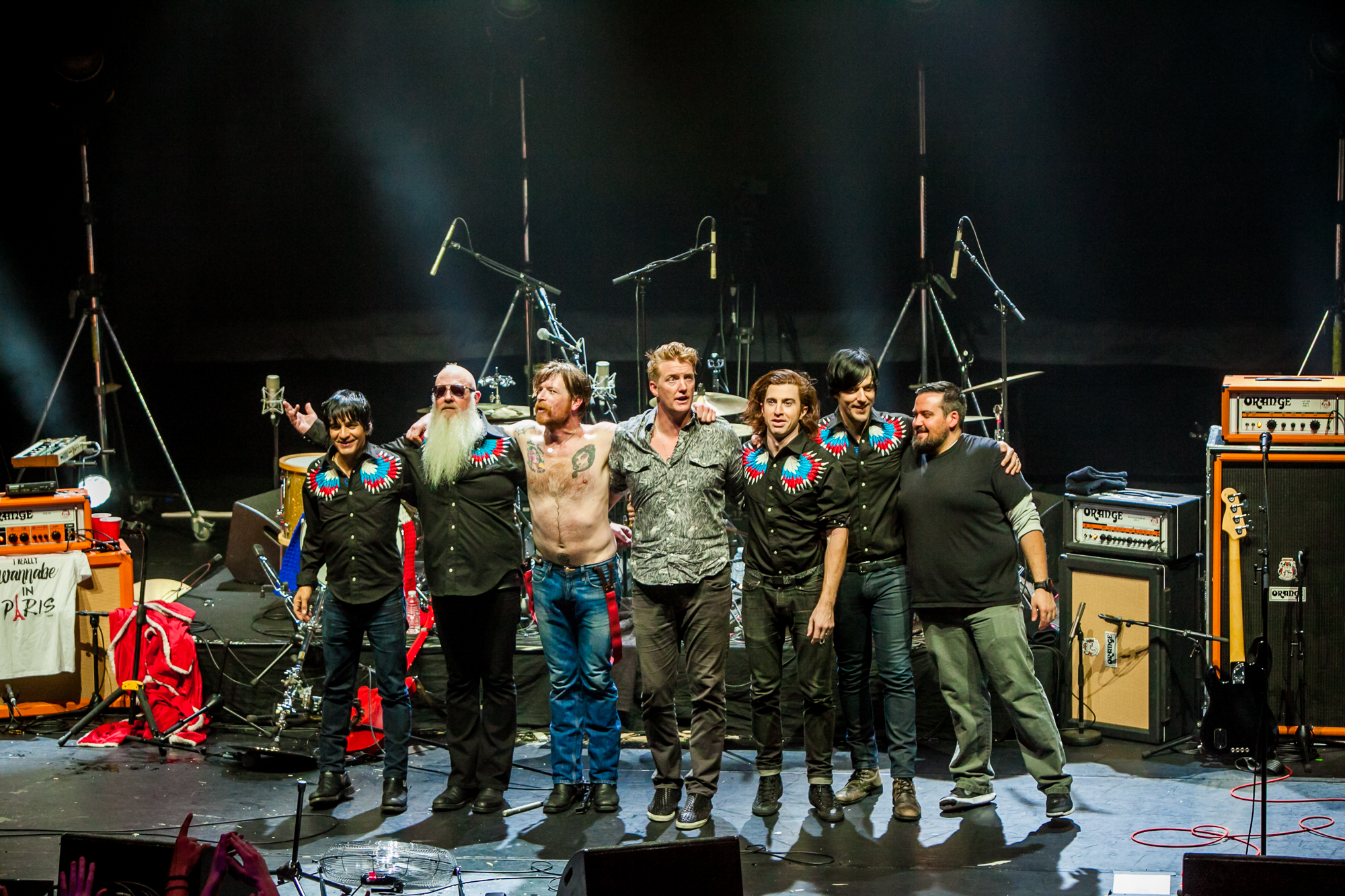 Eagles of Death Metal's return to Paris