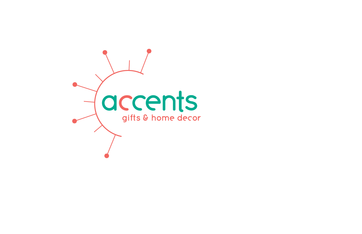 Accents Gifts & Home Decor Logo Redesign