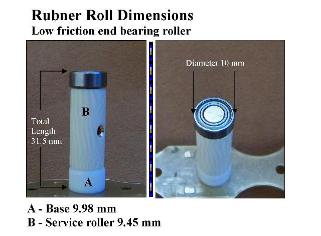 Equal to the size of a conventional standard roller, Rubner Roll makes tuning a super smooth experience!
