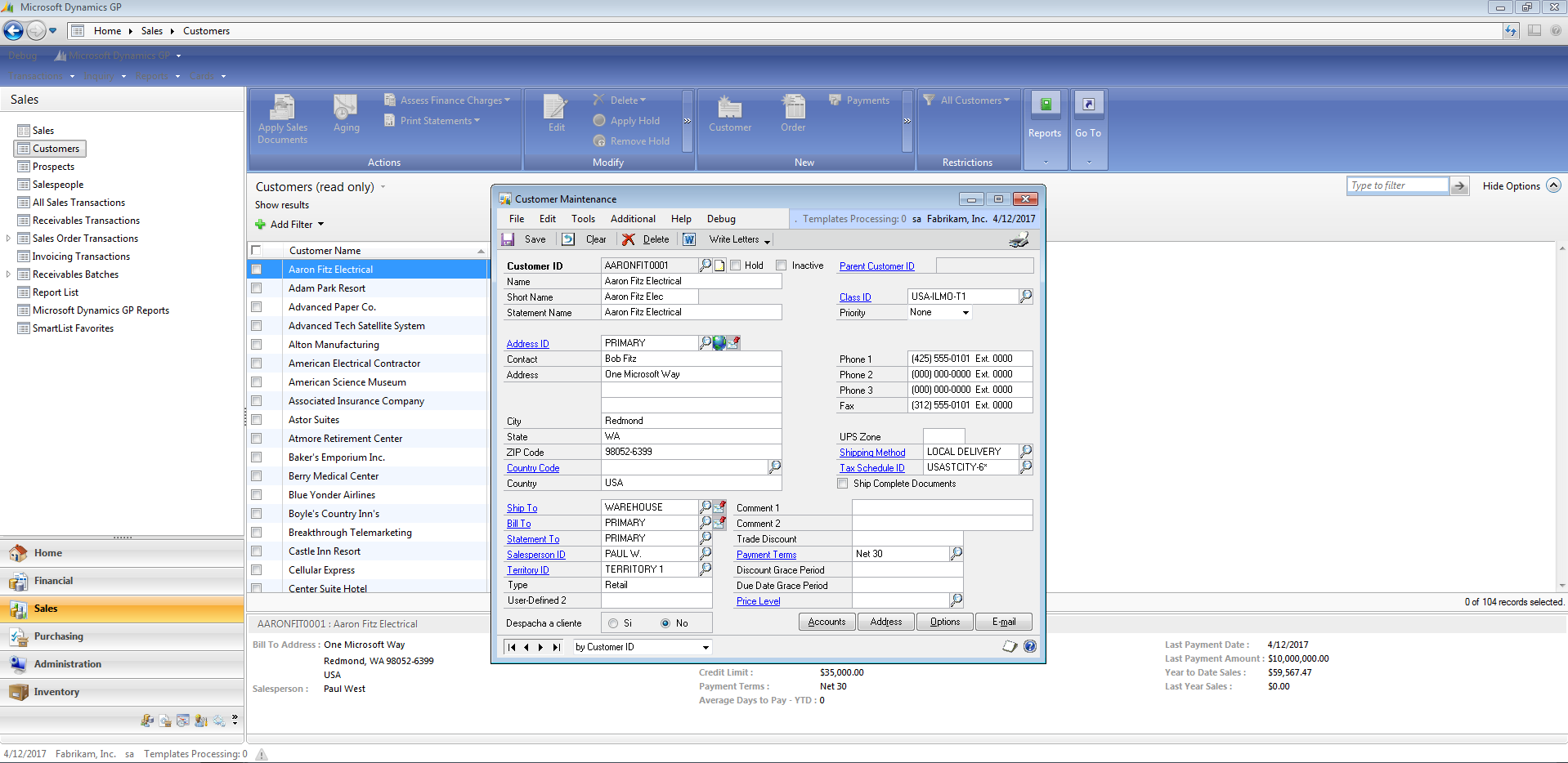 Cliente Desktop