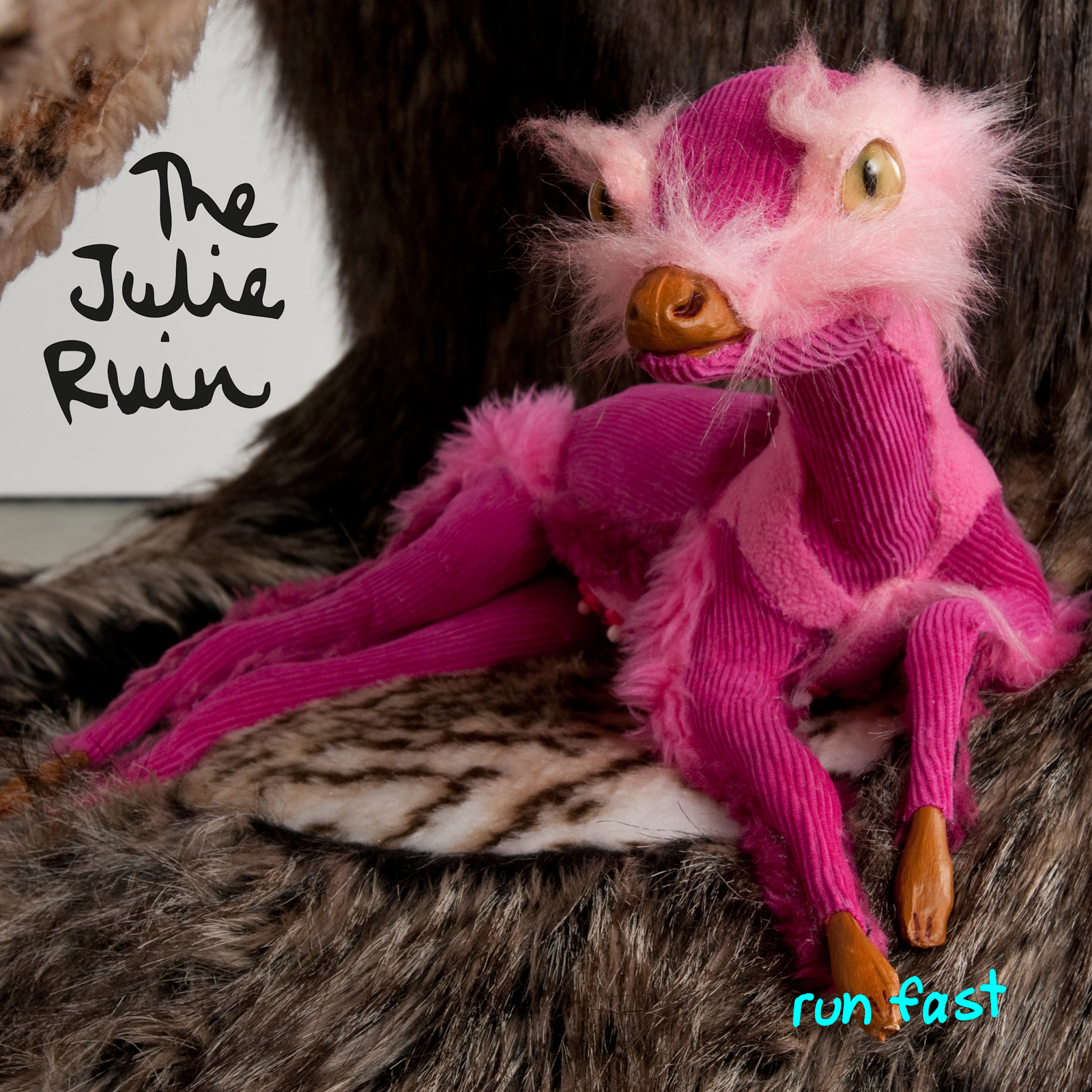 The Julie Ruin - Run Fast (LP) - TJR Records, 2013Click here to purchaseClick image to listen to samples