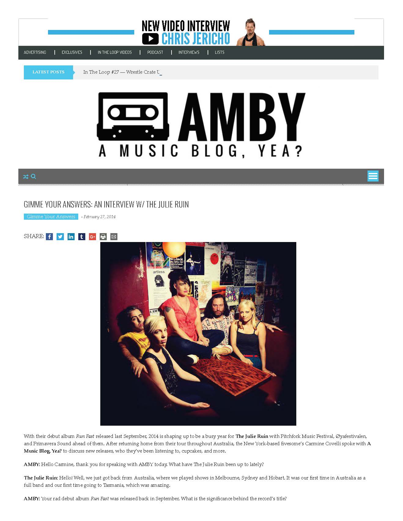 Gimme Your Answers- An Interview w- The Julie Ruin – A Music Blog, Yea?_Page_1.jpg