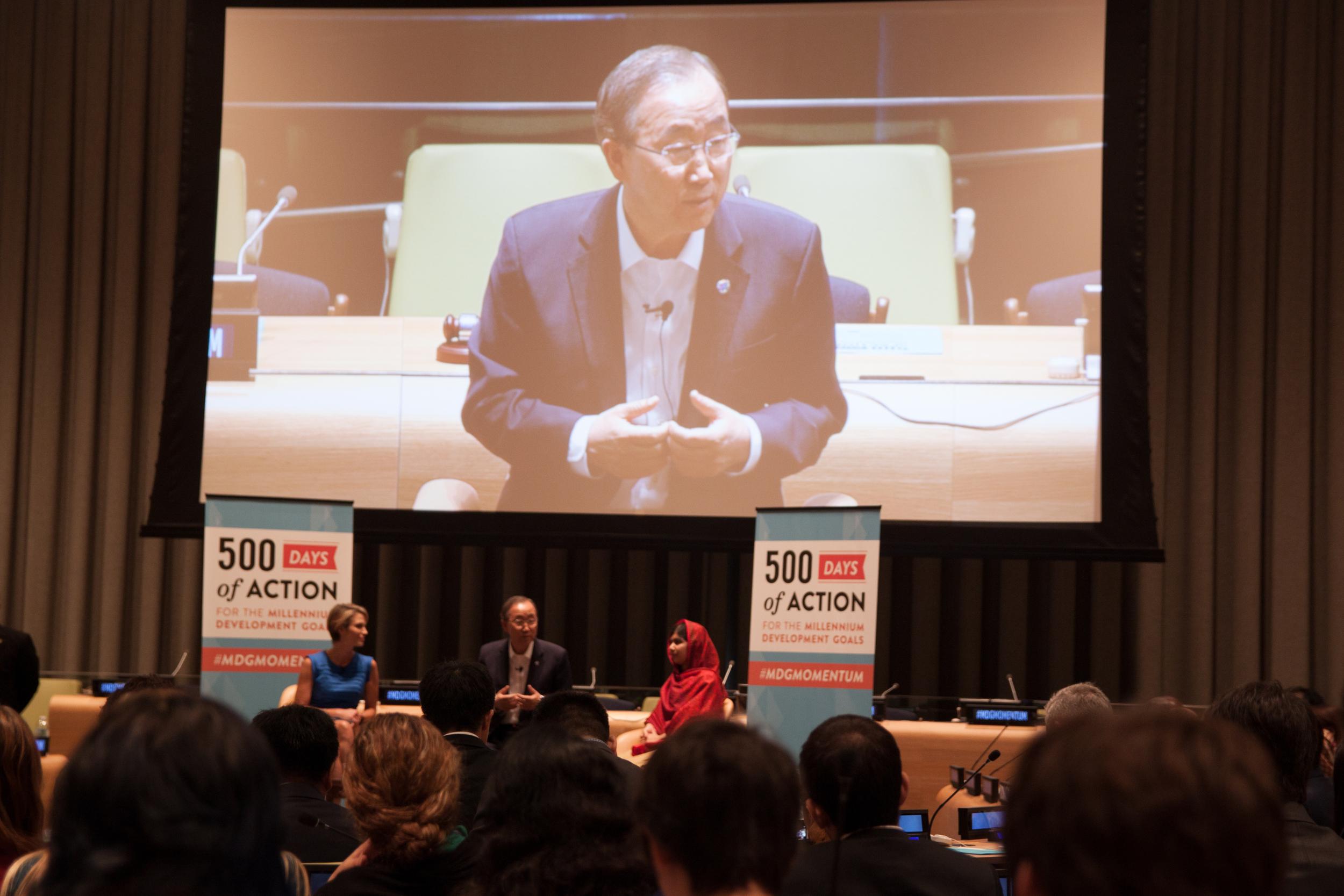 Secretary General Ban Ki-moon