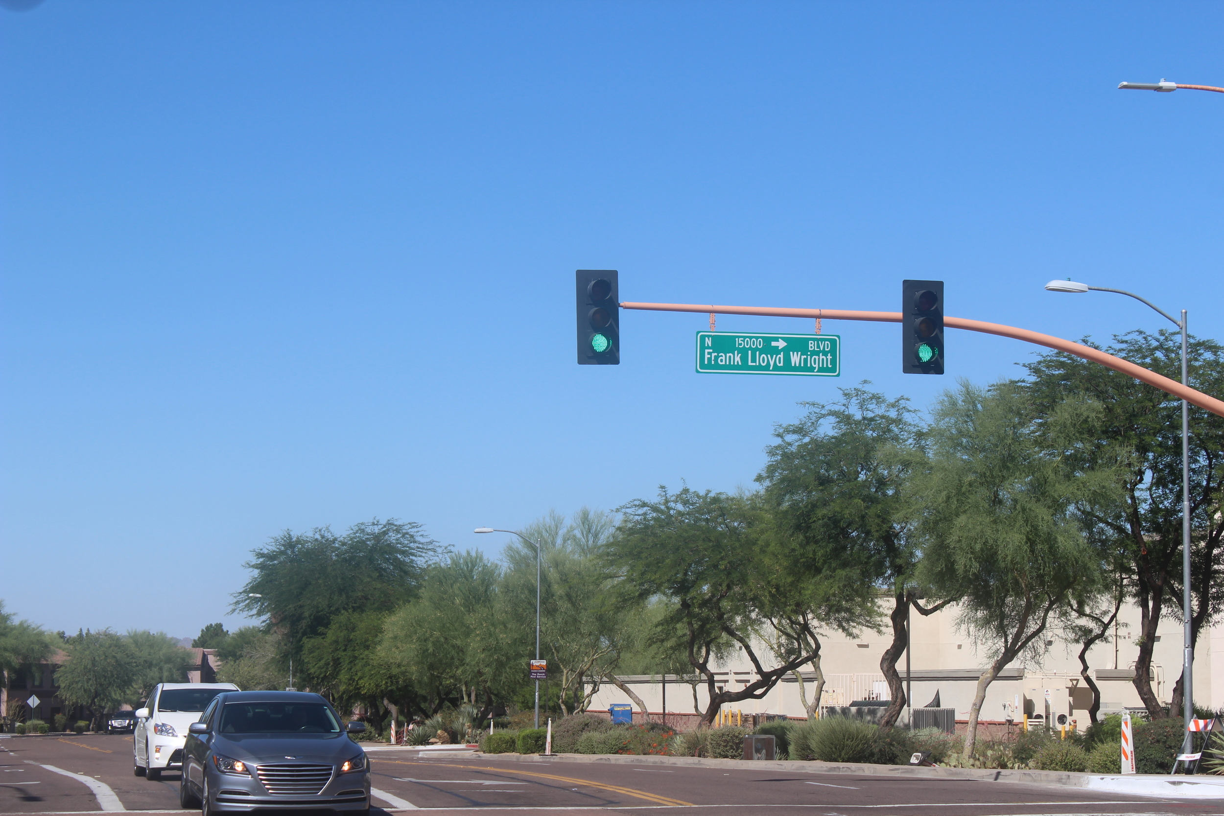 Frank Lloyd Wright Blvd- Scottsdale, Arizona
