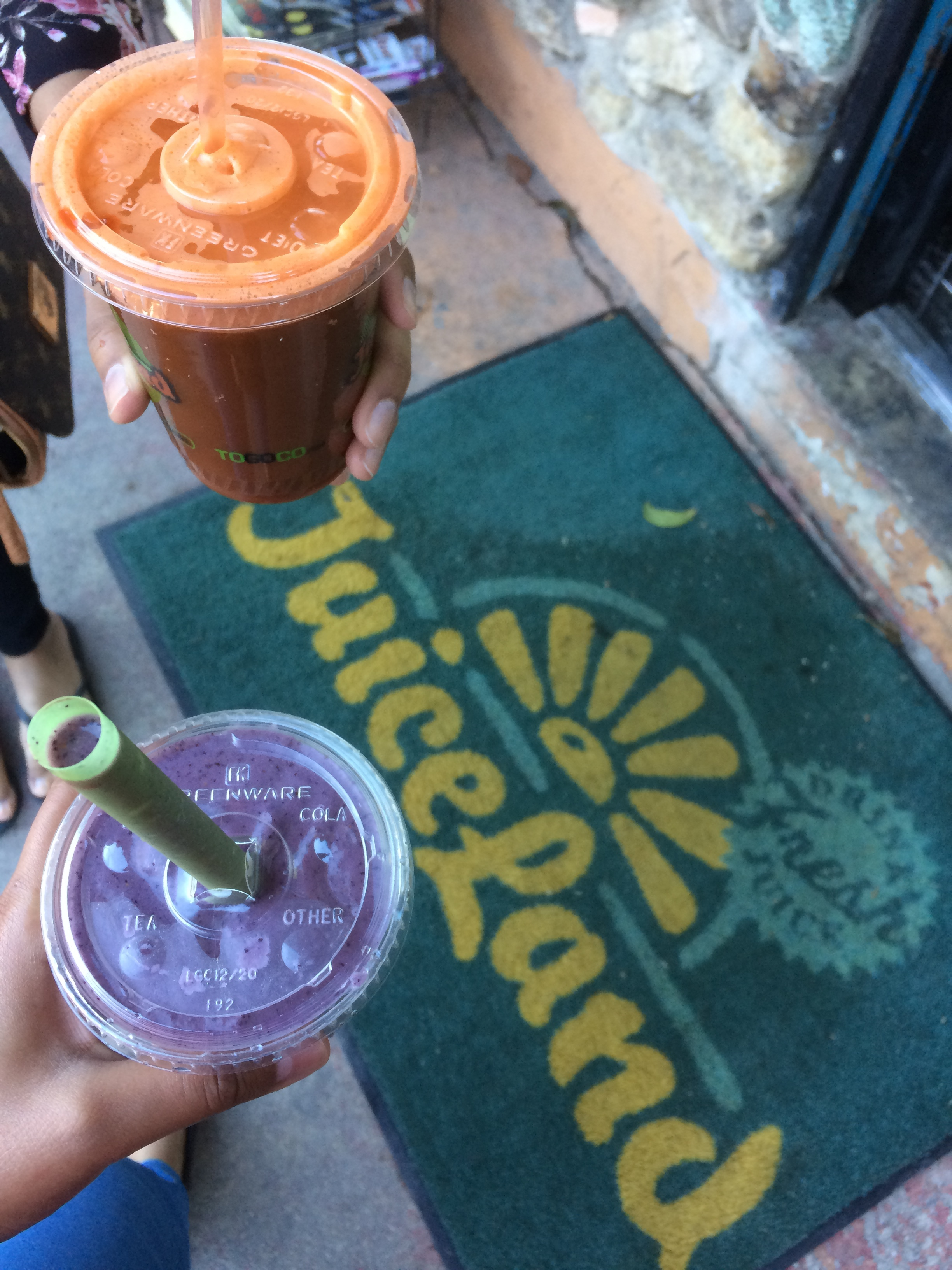 Green Cleanse  - This popular Austin chain takes raw juices and blends into a healthy drink. But, this is just easier to make at home. Click here for creative ideas!