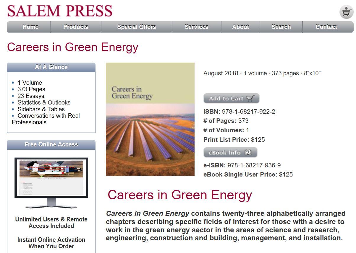 Salem Press: Textbook feature