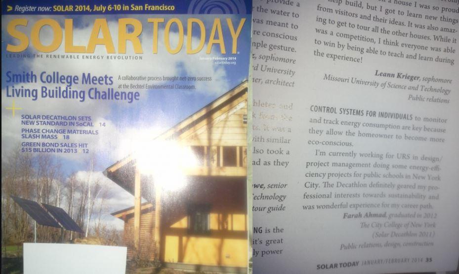SolarToday magazine (ASES)