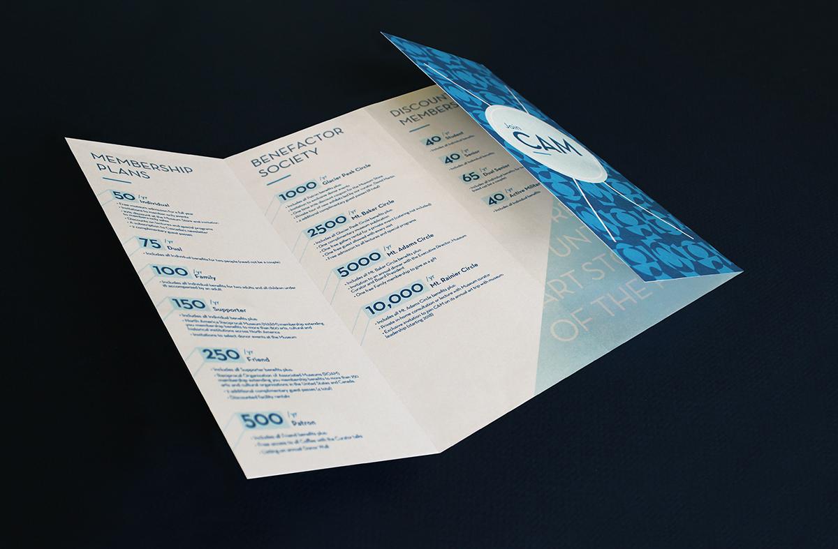 Inner brochure panel design